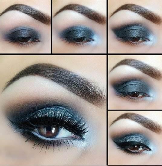Каким образом осуществить макияж на Новый год 2017?