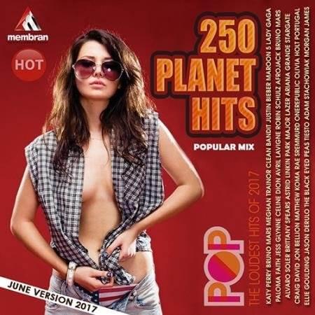 250 Popular Planet Hits (2017)