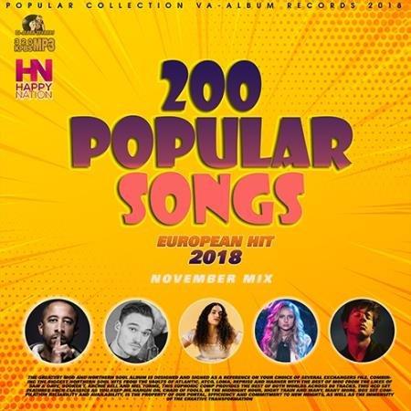 200 Popular November Songs  (2018)