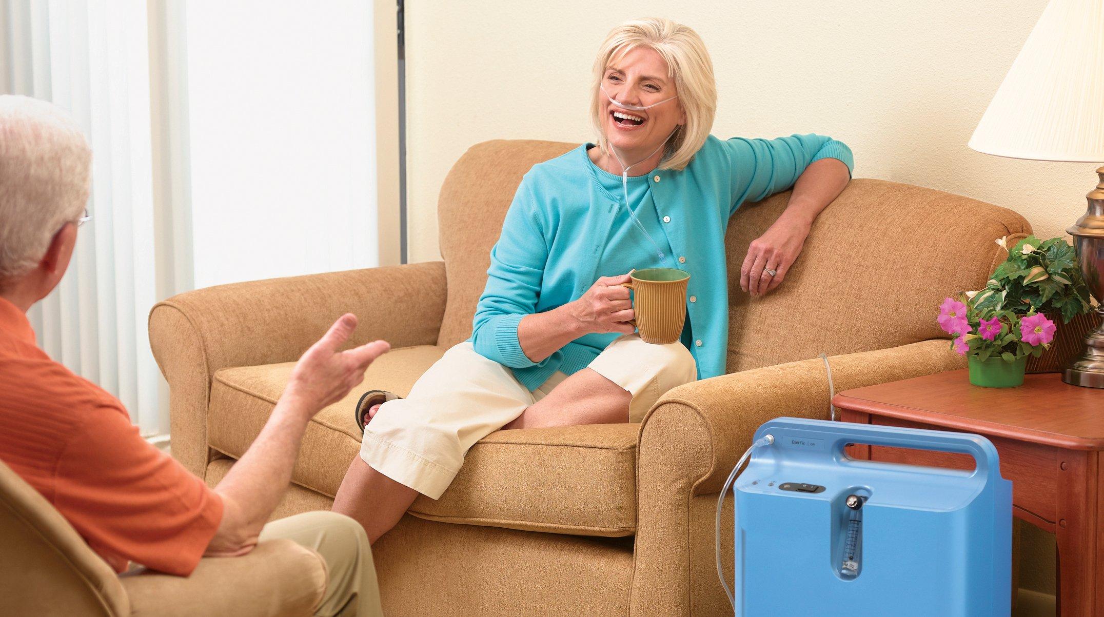 Зачем нужен домашний кислородный концентратор