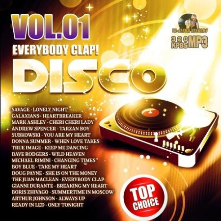 Everybody Clap: Disco Party Vol.01 (2021)