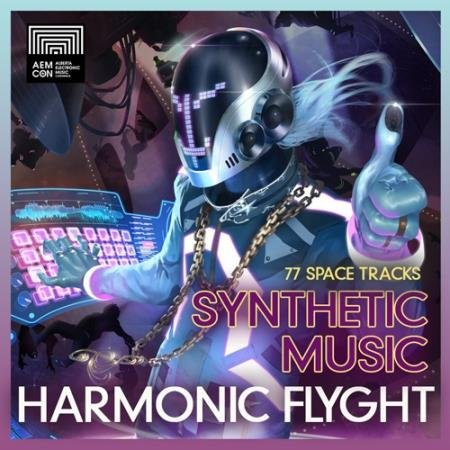 Harmonic Flyght: Synthspace Music (2021)